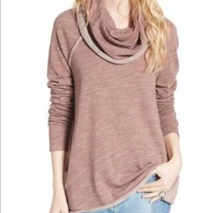 Free People Beach Cocoon Cowl Pullover